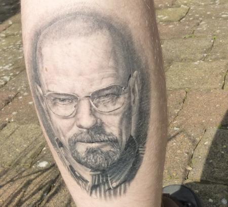 Breaking Bad - Walter White / Heisenberg - Portrait