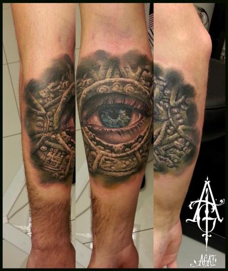 "Auge in Maya-""Tafel"""