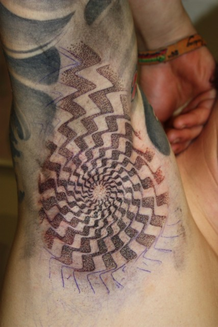 dotwork-Tattoo: Dotwork Tattoo