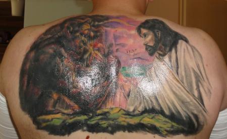 Zladdy1980 Gut Und Böse Tattoos Von Tattoo Bewertungde