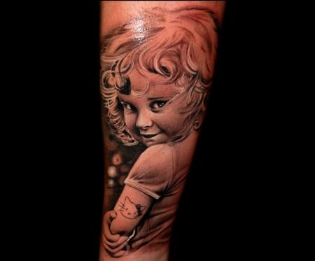 hello kitty-Tattoo: Hello Kitty