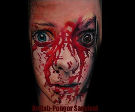 sterne-Tattoo: Fahradumfall oder murder?