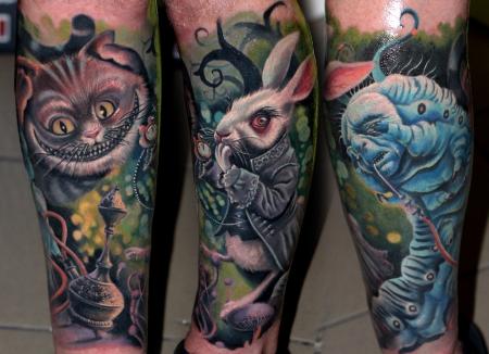 alice-Tattoo: nichts hören nichts sehen nichts sagen...
