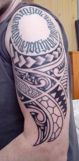Maori, Oberarm