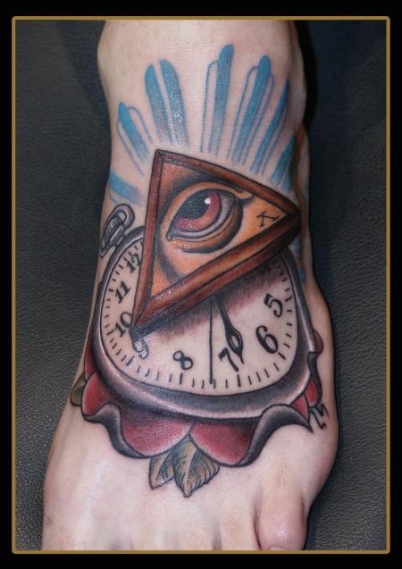 Time-Eye Fuß