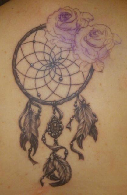 Pinklady1988 Traumfänger Tattoos Von Tattoo Bewertungde
