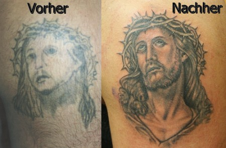 jesus-Tattoo: Jesus Cover Up