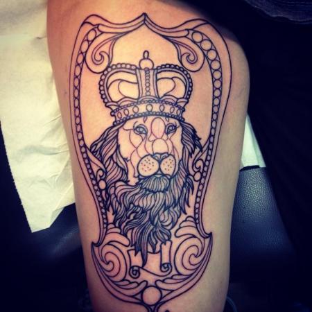 lola obscure l wenkopf tattoos von tattoo. Black Bedroom Furniture Sets. Home Design Ideas