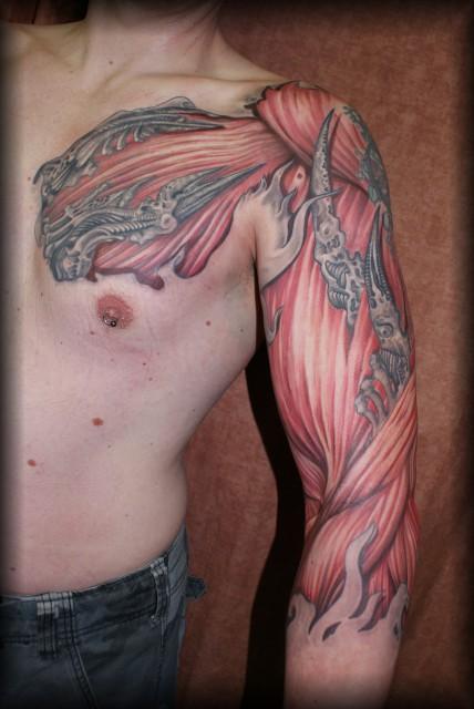 Tattoos Zum Stichwort Biomechanik Tattoo Bewertung De Lass Deine