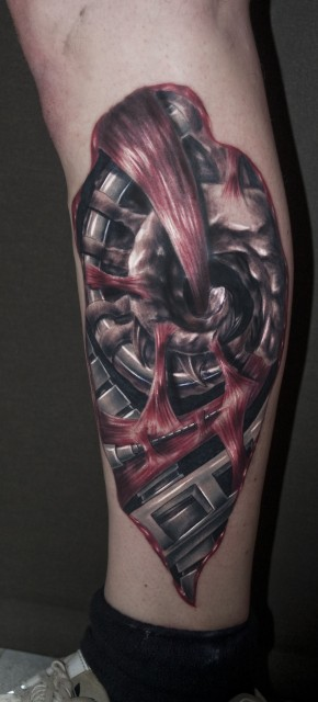 biomech-Tattoo: biomech