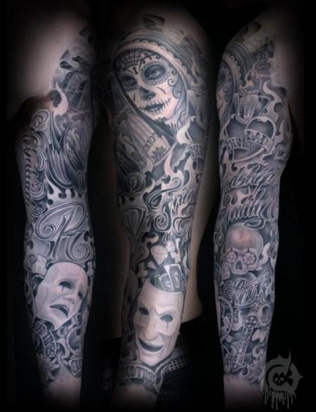 ärmel-Tattoo: Moerte