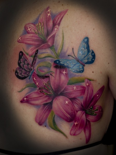 Blumen-Tattoo: blümels