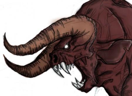 bull sketch#2