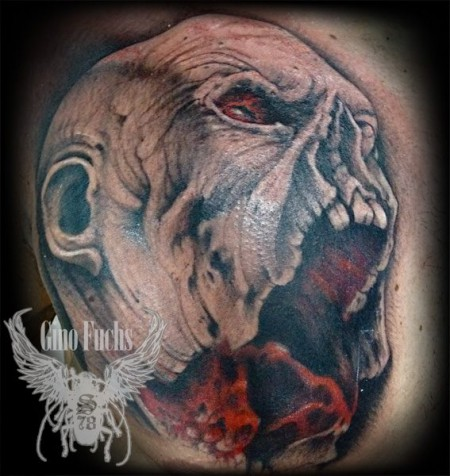 - Dekollete tattoo ...