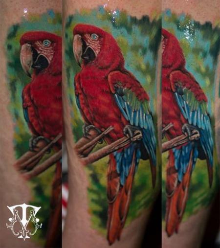 vögel-Tattoo: Mirel Mannheim Ink
