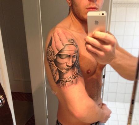 Maria Madonna Pieta Tattoo