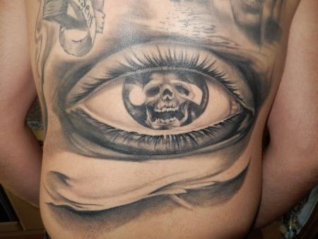 Auge abgeheilt