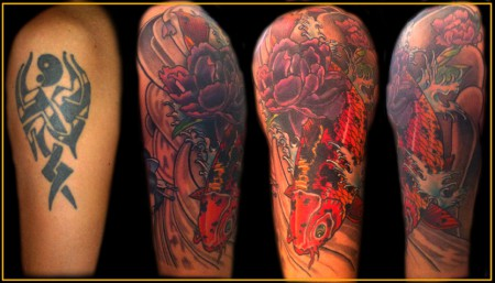 Cover Up meines Tribals