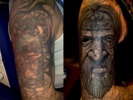 cover-Tattoo: und noch ein cover