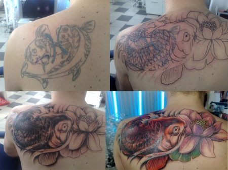 cover-Tattoo: noch ein cover up