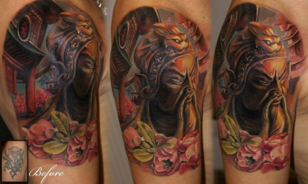 Cover Up Samurai