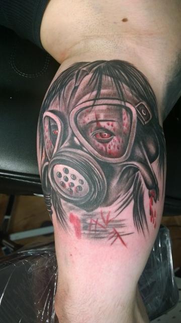 Mein neues Horror Tattoo