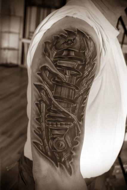 tommy1605 federbein tattoos von tattoo. Black Bedroom Furniture Sets. Home Design Ideas