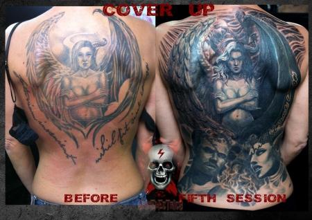 Skinelectrics Gutböse Tattoos Von Tattoo Bewertungde