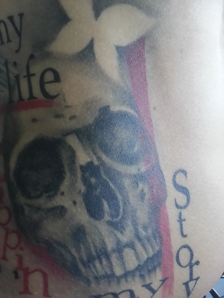 Cover-up Trash Polka - my life, my story, happiness - Teil 3