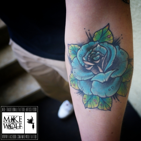 rose-Tattoo: Rose