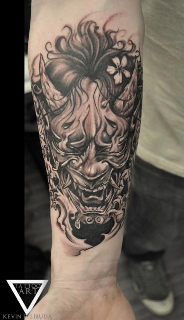 masken-Tattoo: Hanya