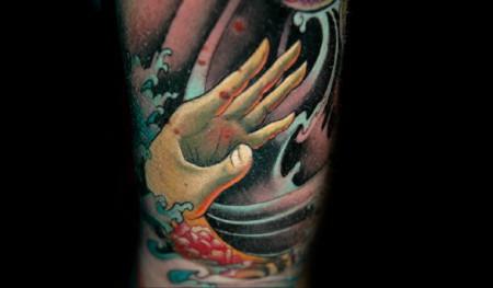 Die ertrinkende Hand