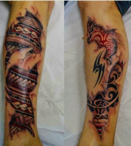 Maori-Tattoo: Maori unter der Haut