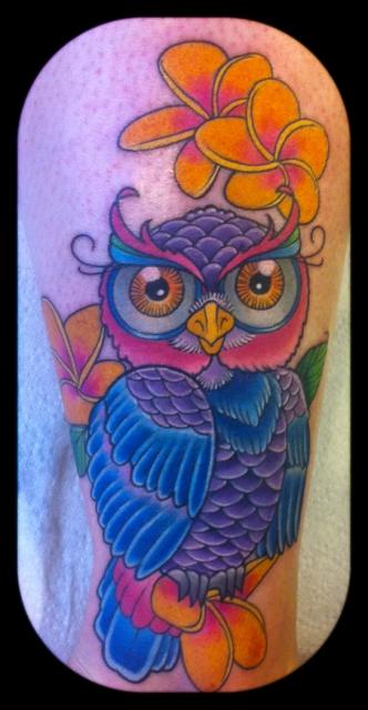 eule-Tattoo: Meine neue Liebe <3 *Eule*