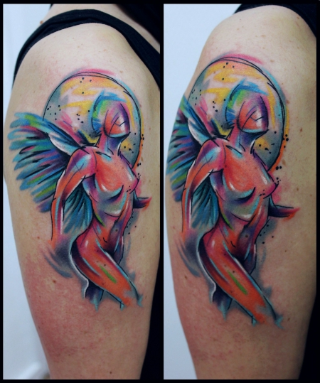 engel-Tattoo: Engel