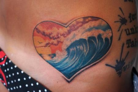 es gibt Leute die gern surfen