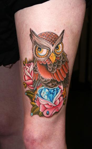 Eule Tattoos Und Eulebilder