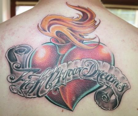 flammendes Herz