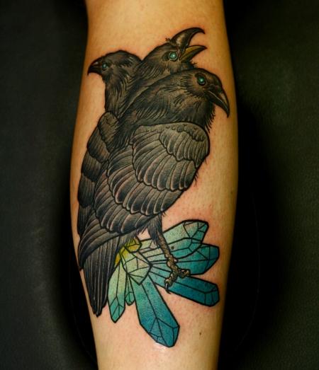 Tattoo Bewertung De: Tattoos Zum Stichwort Raben