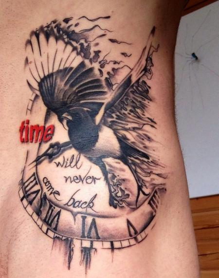 Zeit kennt nur eine Richtung