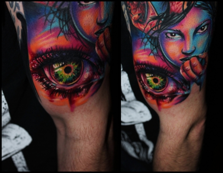 gaboa-Tattoo: Auge