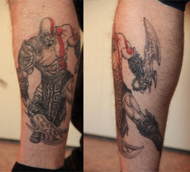 Pin Kratos Skins Tiger Tattoo Designs For Men