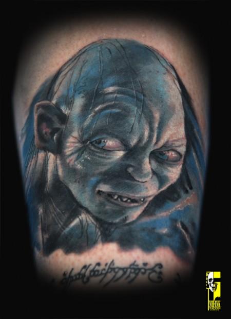 www.nh-ink.de  Judit: Gollum