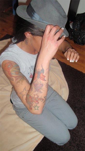 meine tattoos auf dem Arm