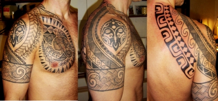polynesisch-Tattoo: Maori/Polynesien Style