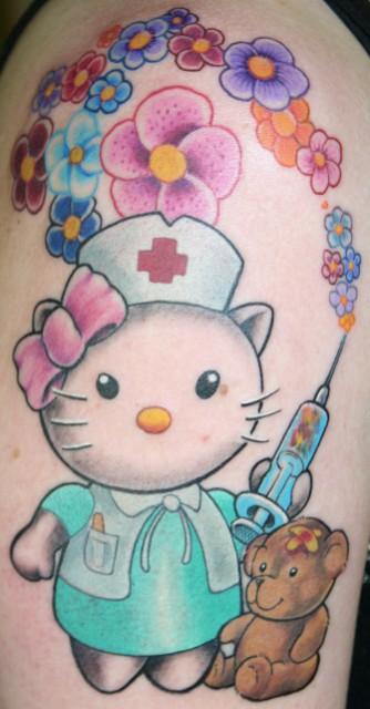 Hello Kittie Krankenschwester