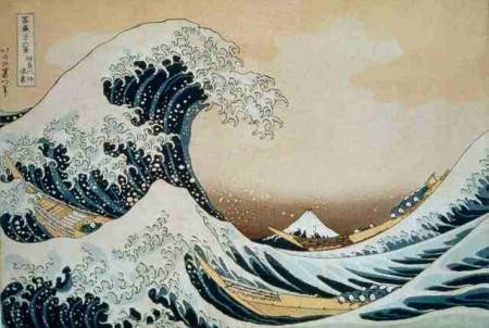 Tsunami Motiv Vorlage
