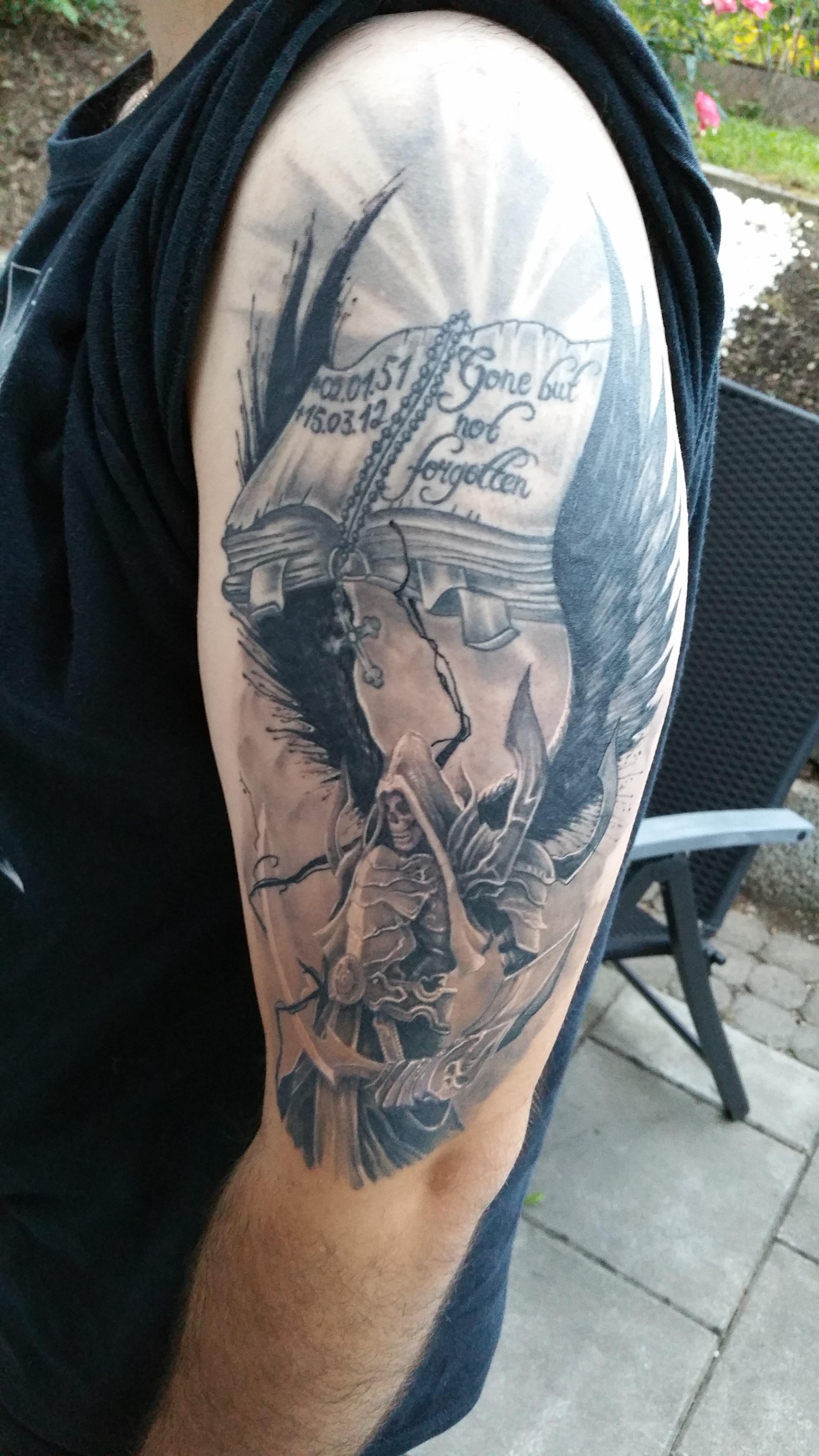 Innenarchitektur Tattoo Motive Engel Ideen Von