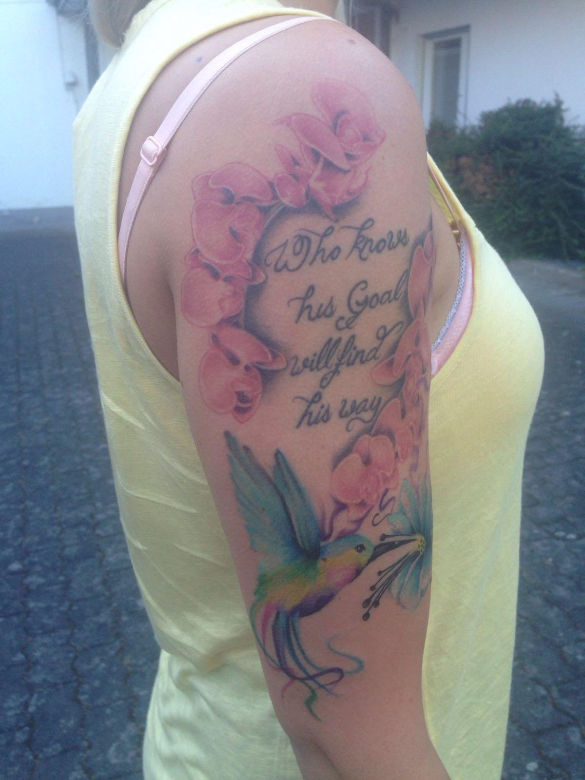 Faszinierend Orchideen Tattoo Galerie Von