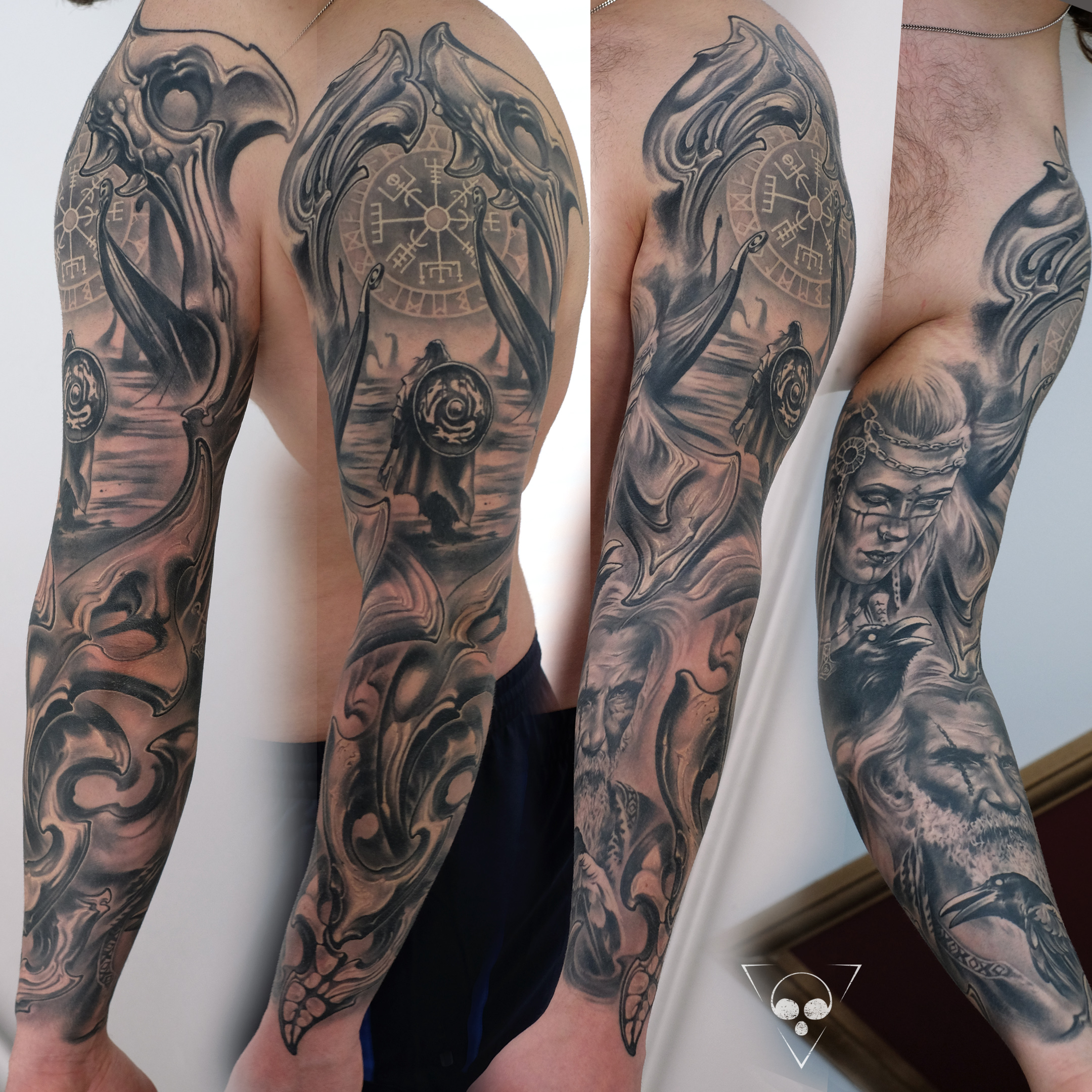 Mythologie tattoos germanische The Meanings